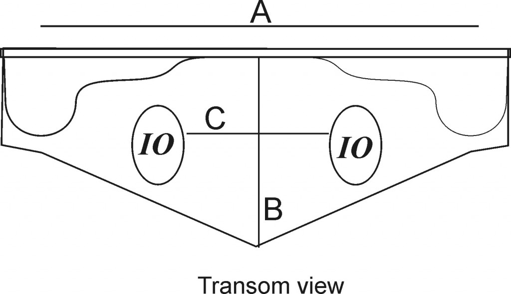 How To Measure Transoms For Add On Boat Swim Platforms